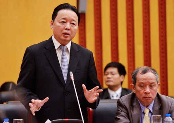 Bộ trưởng Bộ TN&MT Trần Hồng Hà - Ảnh: Hoàng Minh