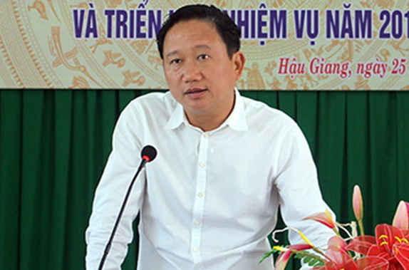 Ông Trịnh Xuân Thanh - Ảnh: Báo Hậu Giang