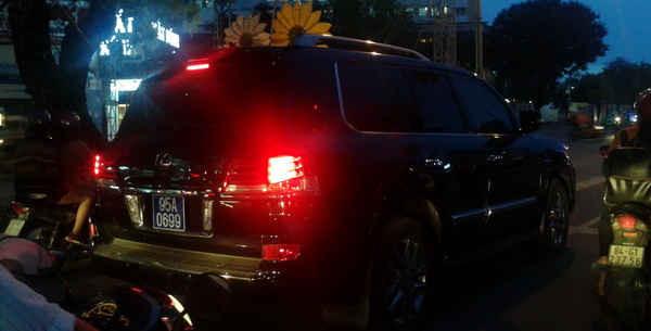 Ông Trần Công Chánh, Bí thư Tỉnh ủy Hậu Giang thừa nhận việc chỉ đạo cho Giám đốc Công an tỉnh Hậu Giang cấp biển số xanh: 0699 cho xe tư nhân để ông Trịnh Xuân Thanh sử dụng không đúng quy định.