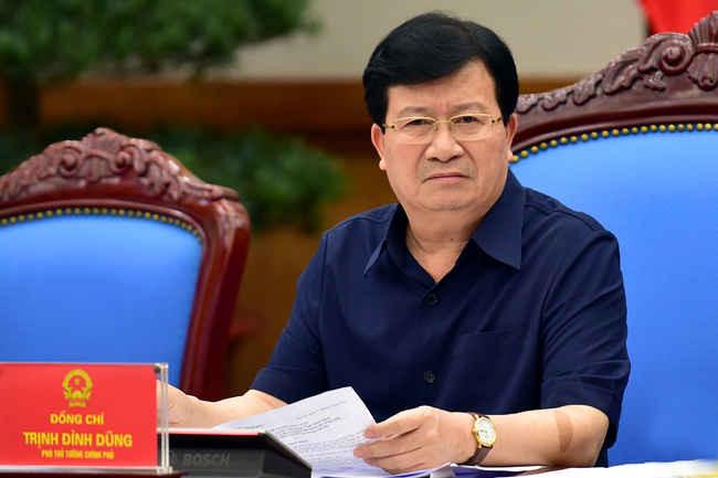 Phó Thủ tướng Trịnh Đình Dũng làm Trưởng BCĐ Nhà nước về điều tra cơ bản TN&MT biển