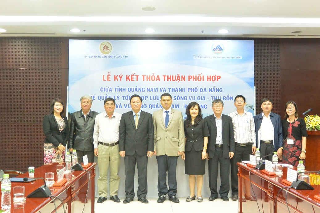 Quảng Nam và Đà Nẵng đã tìm được tiếng nói chung trong việc khai thác, sử dụng, bảo vệ và phát triển bền vững lưu vực sông Vu Gia – Thu Bồn