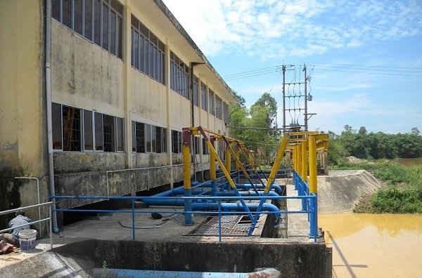 Nhà máy nước Cầu Đỏ (Đà Nẵng) đang bị đe dọa bởi xâm nhập mặn