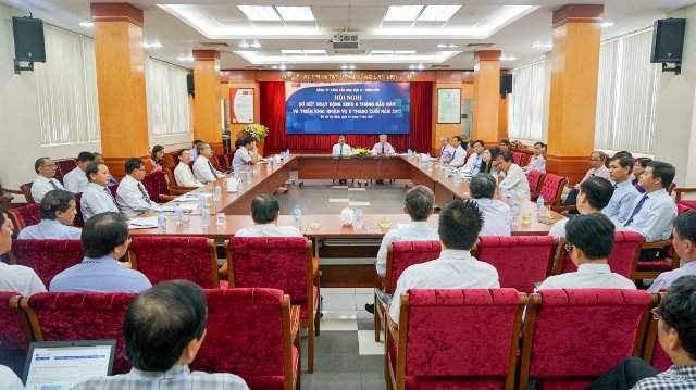 Toàn cảnh Hội nghị sơ kết 6 tháng đầu năm của Petrolimex Sài Gòn