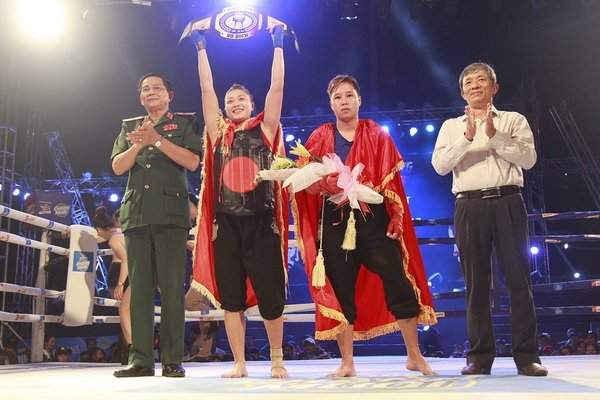 Chức vô địch là phần thưởng xứng đáng với những nỗ lực của các võ sĩ trong suốt thời gian 2 tháng vừa qua