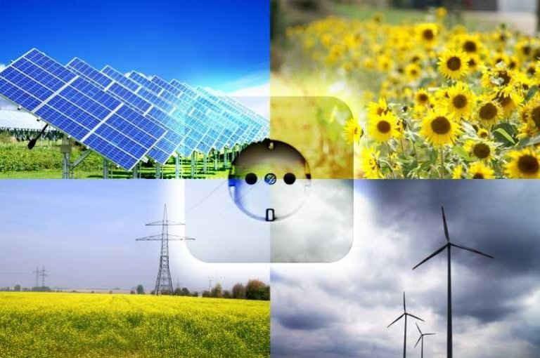 Năng lượng tái tạo – năng lượng mặt trời và gió sẽ đảm bảo an ninh năng lượng với môi trường sạch sẽ hơn.
