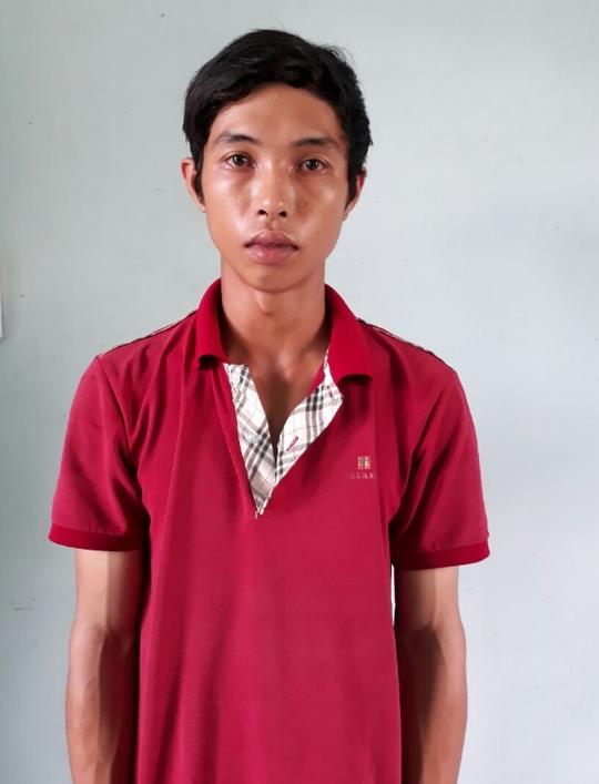 Nguyễn Bình Sơn tại cơ quan CSĐT. Ảnh do công an cung cấp.