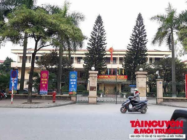 Trụ sở HĐND, UBND huyện Gia Lâm.