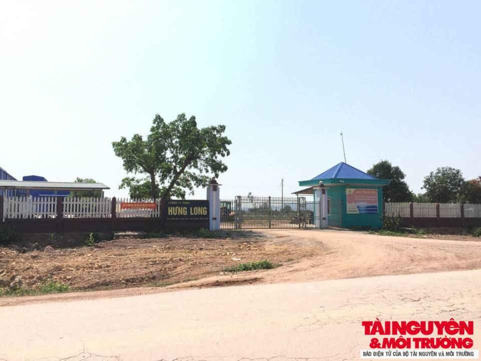 Không phát hiện bãi tập kết đất thải hữu cơ tại mặt bằng dự án của Công ty TNHH Hưng Long.