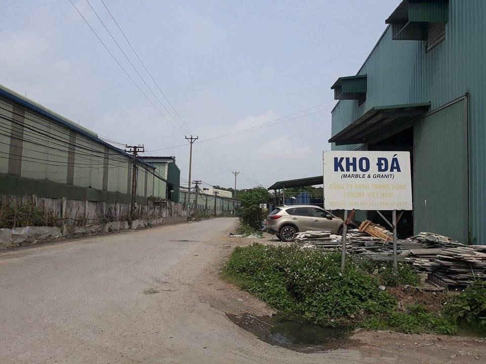 Công ty Cổ phần Đầu tư và Xây dựng Việt Hà, chủ đầu tư Cụm công nghiệp Phú Minh.
