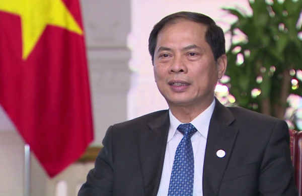 Thứ trưởng thường trực Bộ Ngoại giao Bùi Thanh Sơn