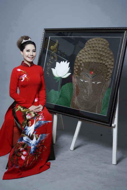 """Doanh nhân Nhân ái Lady Queen 2018 Nguyễn Lan Hương - Đại sứ """"Hành trình nhân ái"""""""