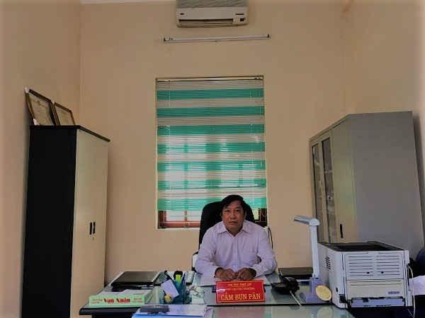 Ông Cầm Bun Păn, Phó Chi cục trưởng Chi cục Thủy lợi, Thường trực Văn phòng Ban chỉ huy PCTT&TKCN tỉnh Sơn La