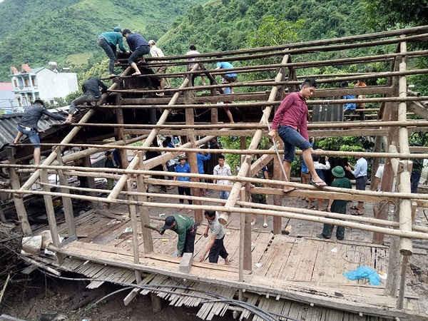 Tỉnh Sơn La nỗ lực giúp người dân khắc phục hậu quả thiên tai