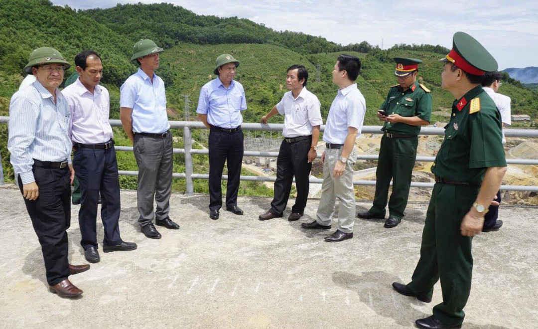 Lãnh đạo tỉnh Thừa Thiên Huế đi kiểm tra các hồ đập trên địa bàn