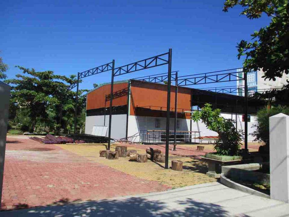 Công trình xây dựng sai phạm tại Công viên 26-3, Phường 7, TP. Tuy Hòa