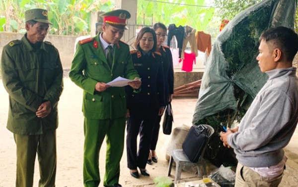 Cơ quan công an công bố quyết định khởi tố bị can Nguyễn Hữu Chiến