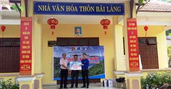 Thành Đoàn Đà Nẵng tặng quà cho đơn vị đồn Biên phòng Cù Lao Chàm