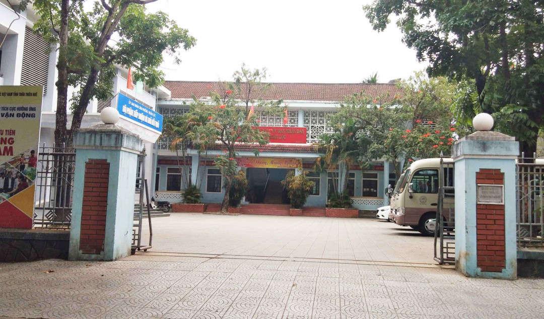 Phường Thuận Lộc- nơi ông Hưng đang công tác