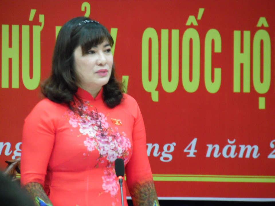 ĐQBH kiêm Giám đốc Sở Tư pháp TP. Đà Nẵng Võ Thị Như Hoa cho biết, quy trình ban hành văn quy phạm pháp luật Quyết định 06/2019/QĐ-UBND ngày 31/1/2019 là đúng pháp luật