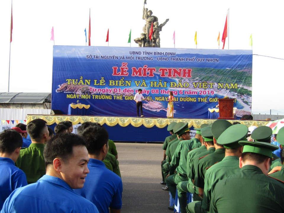 Quang cảnh Lễ mit tinh Tuần lễ biển và hải đảo Việt Nam, Ngày Môi trường thế giới, Ngày Đại dương thế giới
