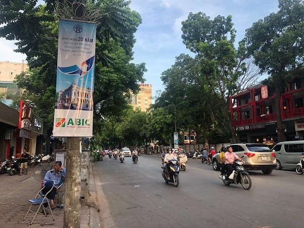 Chất lượng không khí khu vực Hoàn Kiếm được cải thiện rõ rệt