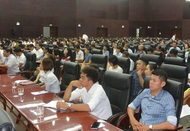 Buổi tập huấn có sự tham dự của đại diện hơn 500 cơ sở sản xuất, kinh doanh, dịch vụ trên địa bàn TP