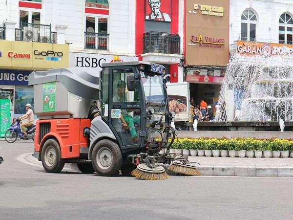 Hà Nội: Tăng cường vệ sinh môi trường chào mừng Quốc khánh 2/9