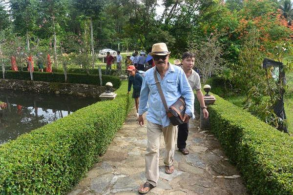 Đường vào thôn Lộc Yên sạch, đẹp mang lại vẻ mỹ quan và bình yên
