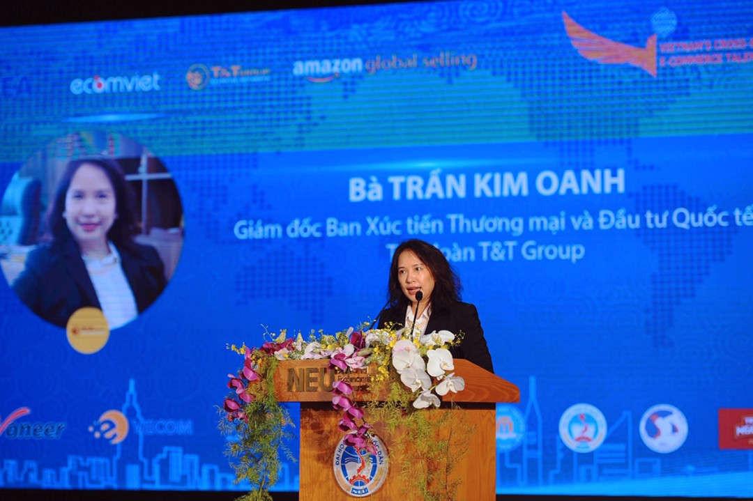 Ba Tran Thi Kim Oanh T&T Group phat bieu