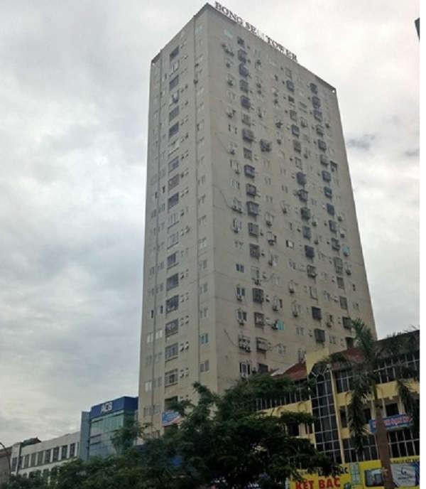 Chung cư Bông Sen ở đường Quang Trung (TP Vinh) xây vượt tầng và nhiều vi phạm khác