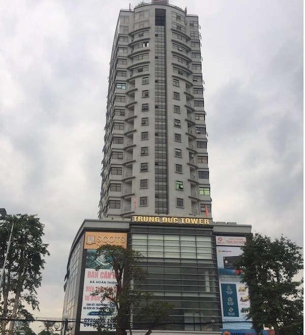 Chung cư Trung Đức ở đường Lê Lợi (TP Vinh) cũng xây vượt 1 tầng