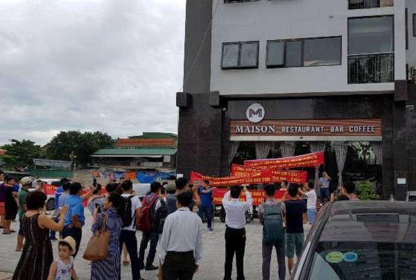"""Chung cư Bảo Sơn Complex ở 126, đường Nguyễn Sỹ Sách (TP Vinh) – Nơi từng bị """"tố"""" lừa dối khách hàng cũng đang tồn tại nhiều sai phạm"""
