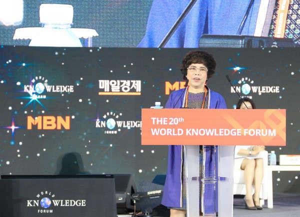 bà Thái Hương – nhà sáng lập Tập đoàn TH
