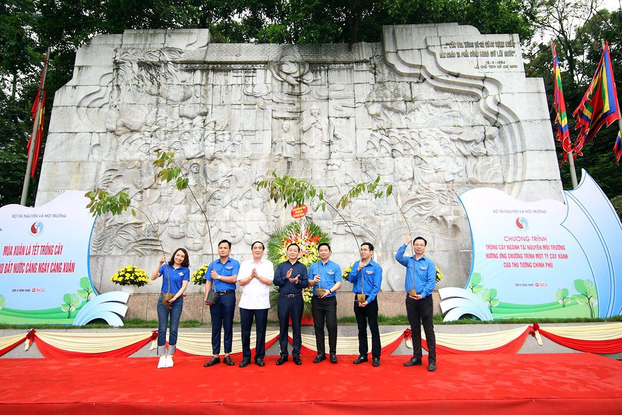 Ngành Tài nguyên và Môi trường hưởng ứng Chương trình trồng 1 tỷ cây xanh