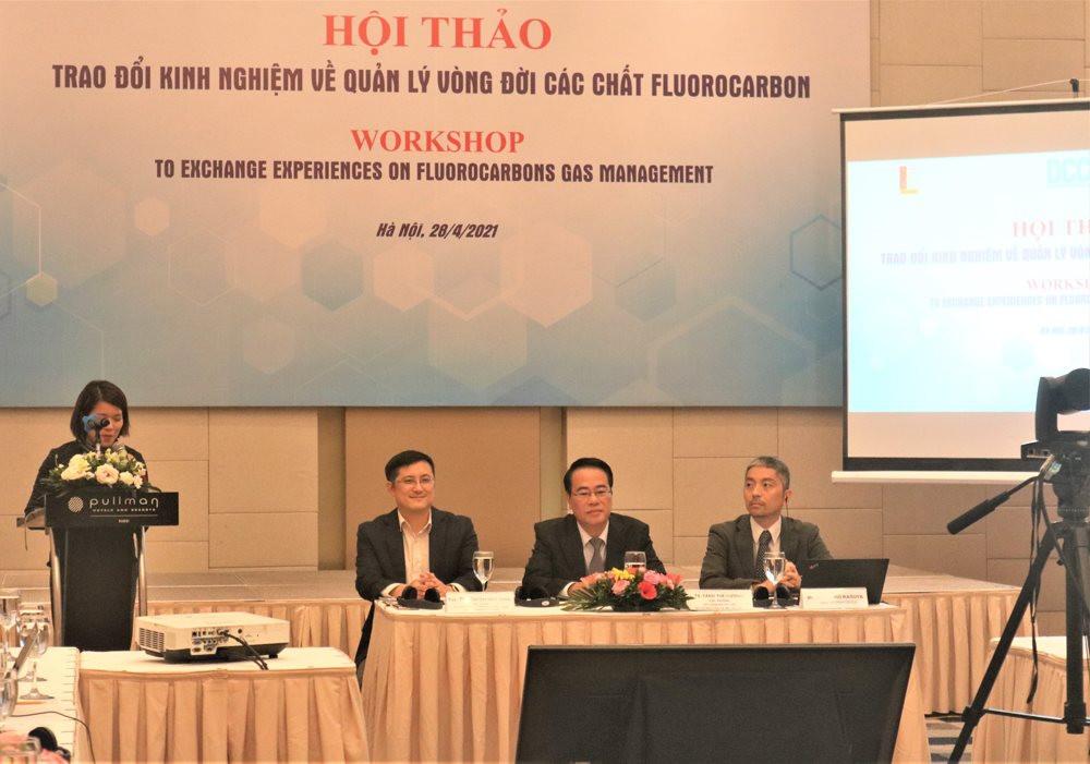 Hội thảo trao đổi kinh nghiệm về quản lý vòng đời các chất fluorocarbon