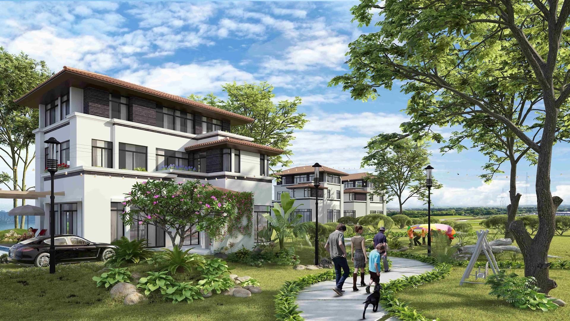 Hình ảnh: 'Nghỉ dưỡng tại gia' lên ngôi, villa biển Hạ Long vào tầm ngắm nhà đầu tư số 1
