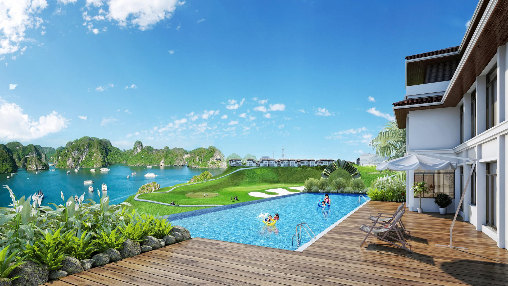 Hình ảnh: 'Nghỉ dưỡng tại gia' lên ngôi, villa biển Hạ Long vào tầm ngắm nhà đầu tư số 2