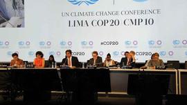 Sẵn sàng cho Hội nghị Biến đổi khí hậu của Liên hợp quốc tháng 12 tới