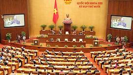Chính thức khai mạc kỳ họp thứ 10, Quốc hội khóa XIII