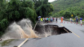 Trung Quốc: 9 người chết, hàng trăm người bị thương do tàn dư siêu bão Nepartak