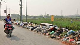 Đan Phượng (Hà Nội): Ô nhiễm nghiêm trọng do vứt rác bừa bãi