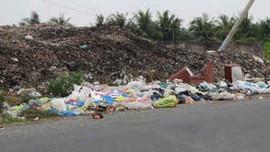 Tiền Giang: Lập 'tổ đặc nhiệm' chuyên xử lý người vứt rác bừa bãi