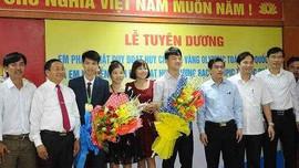 Hà Tĩnh: Khen thưởng học sinh đoạt huy chương các kỳ thi Olympic quốc tế