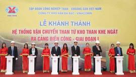 Quảng Ninh:  Đưa hệ thống vận chuyển than trị giá 1.300 tỷ vào hoạt động