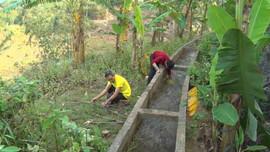 Lai Châu: Thiếu nước hợp vệ sinh, người dân phải dùng nước mương sinh hoạt