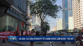 """Hà Nội: Cư dân Star City ở 3 năm chưa làm được """"sổ đỏ"""""""