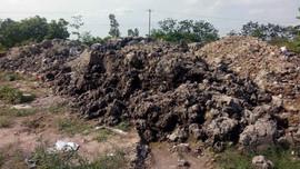 UBND huyện Hoài Đức, Hà Nội nói gì về phế thải tung hoành tại Đại lộ Thăng Long