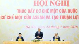 Thúc đẩy về cơ chế một cửa quốc gia, một cửa ASEAN