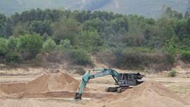 Bình Định: Khai thác cát trên sông Hà Thanh, DN không tuân thủ các quy định khai thác khoáng sản