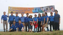 Quảng Trị: Tập huấn phương pháp giám sát rác thải nhựa biển cho các tình nguyện viên bảo tồn rùa biển